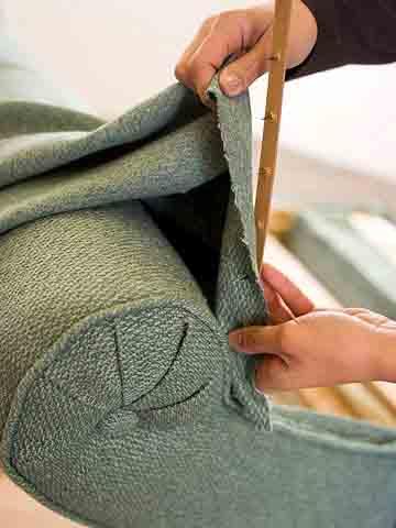 Обивка мебели своими руками мастер класс