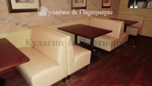 перетяжка мебели для баров и ресторанов