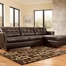 перетяжка дивана кожей