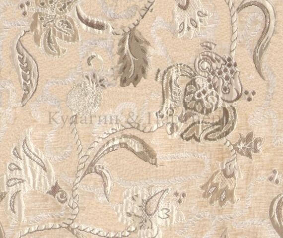 Обивочная мебельная ткань шенилл Frais 6410