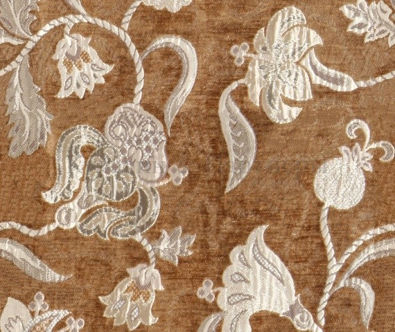 Обивочная мебельная ткань шенилл Frais 6483