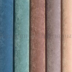 Обивочная мебельная ткань флок Santorini