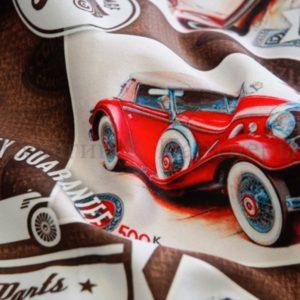 Обивочная мебельная ткань микровелюр Cars