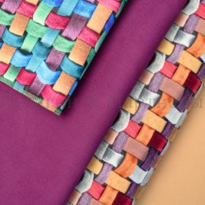Обивочная мебельная ткань микровелюр Tissage
