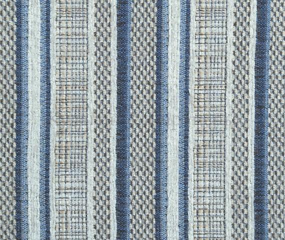 Обивочная мебельная ткань шенилл Campo Stripe 01