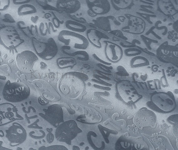 Обивочная мебельная ткань велюр Fluffy 990