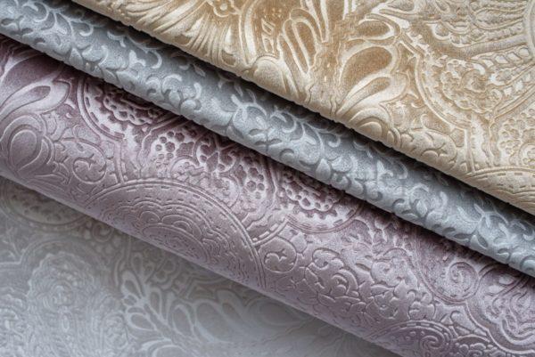 Обивочная мебельная ткань велюр Gala