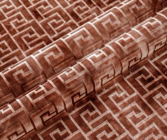 Обивочная мебельная ткань велюр Hermes 02