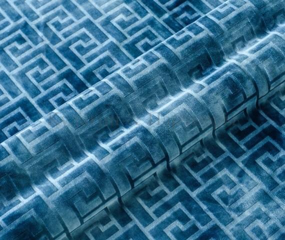 Обивочная мебельная ткань велюр Hermes 06