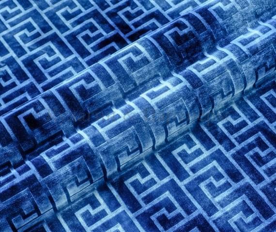 Обивочная мебельная ткань велюр Hermes 07