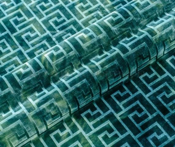 Обивочная мебельная ткань велюр Hermes 08