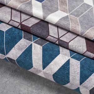Обивочная мебельная ткань велюр Lambre Polo