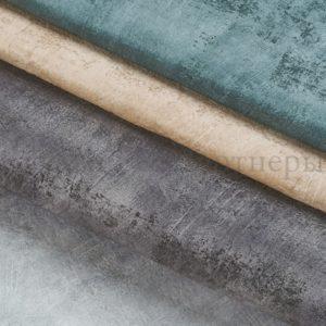 Обивочная мебельная ткань велюр Titanium