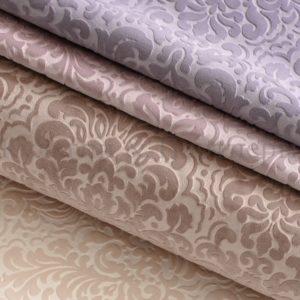 Обивочная мебельная ткань велюр Vanilla