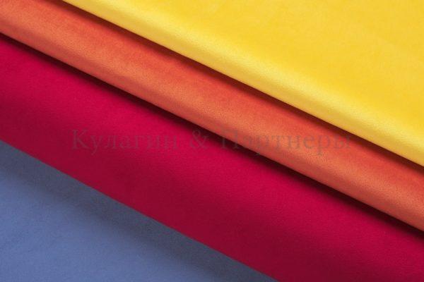 Обивочная мебельная ткань велюр Velutto