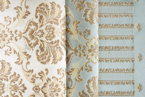 Обивочная мебельная ткань жаккард Adel