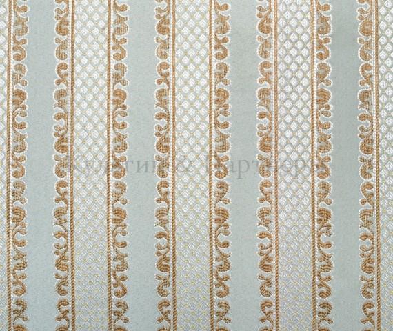 Обивочная мебельная ткань жаккард Adel Stripe 68