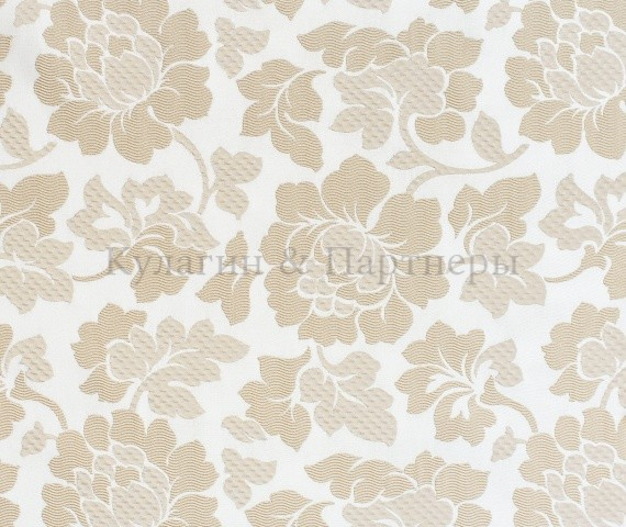 Обивочная мебельная ткань жаккард Bremen Flowers 02