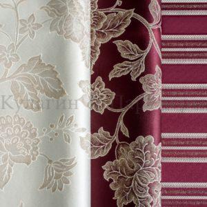 Обивочная мебельная ткань жаккард Edem