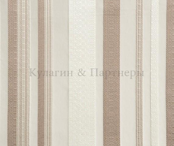 Обивочная мебельная ткань жаккард Erika Stripe 01