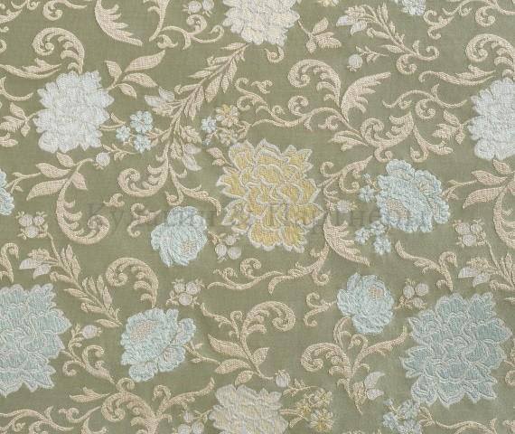 Обивочная мебельная ткань жаккард Motive Flowers 01