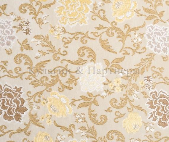 Обивочная мебельная ткань жаккард Motive Flowers 02