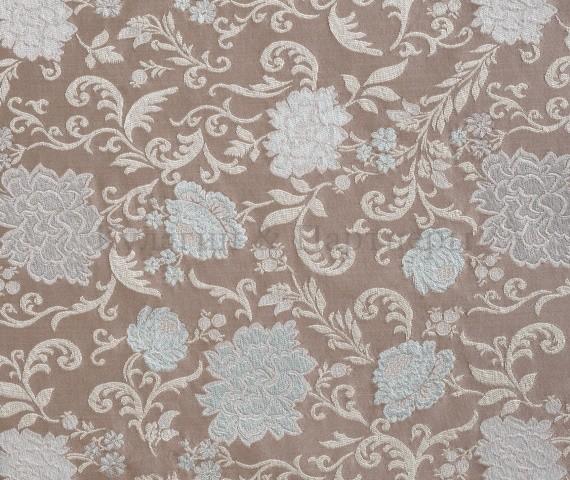 Обивочная мебельная ткань жаккард Motive Flowers 04