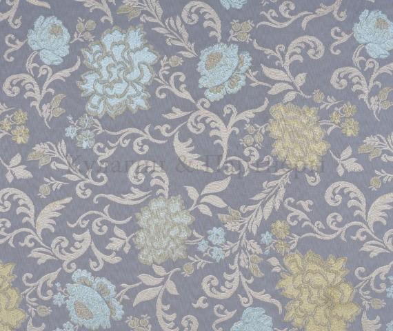 Обивочная мебельная ткань жаккард Motive Flowers 05