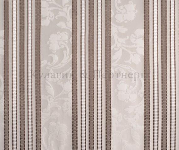 Обивочная мебельная ткань жаккард Paula Stripe 02