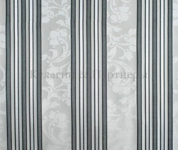 Обивочная мебельная ткань жаккард Paula Stripe 03
