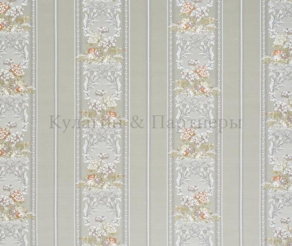 Обивочная мебельная ткань жаккард Sherrya Stripe 01