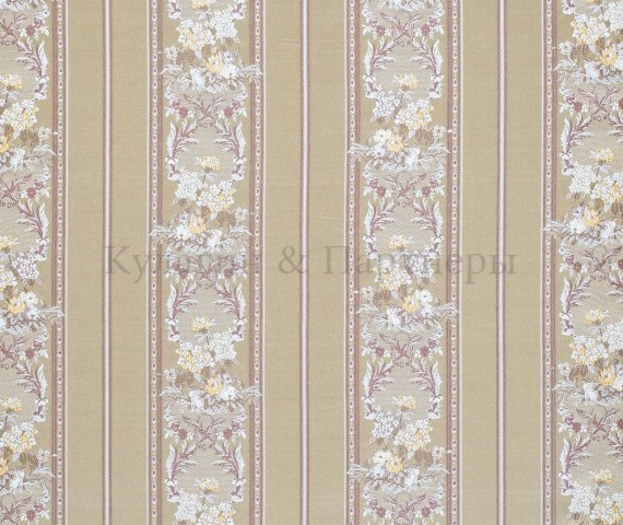 Обивочная мебельная ткань жаккард Sherrya Stripe 02
