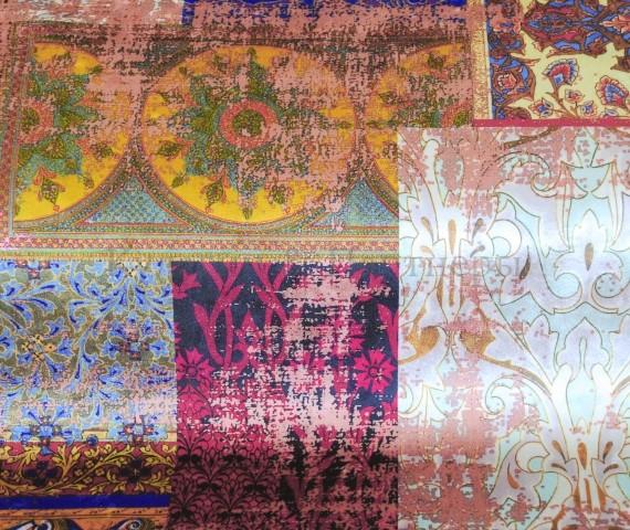 Обивочная мебельная ткань бархат Persia 01