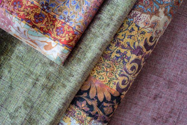 Обивочная мебельная ткань бархат Persia