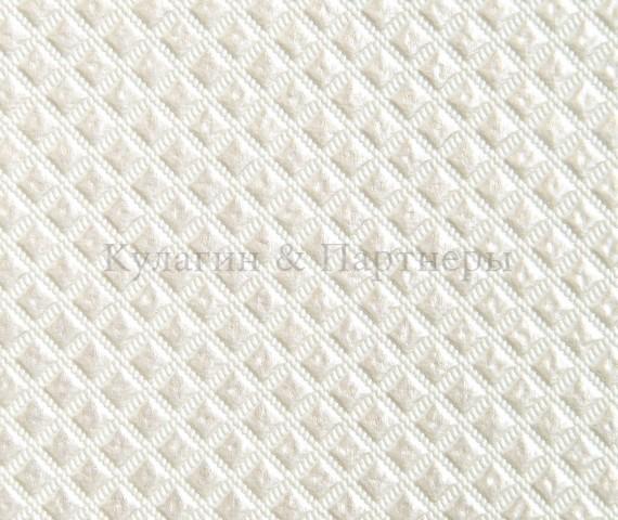 Обивочная мебельная ткань искусственная кожа Patina Romb 015