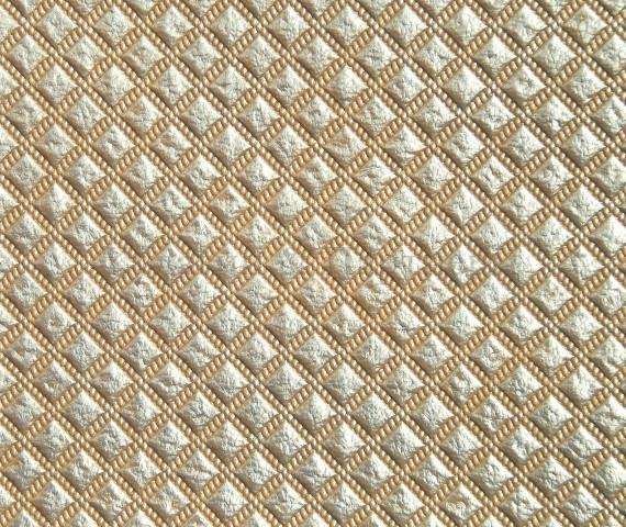 Обивочная мебельная ткань искусственная кожа Patina Romb 143