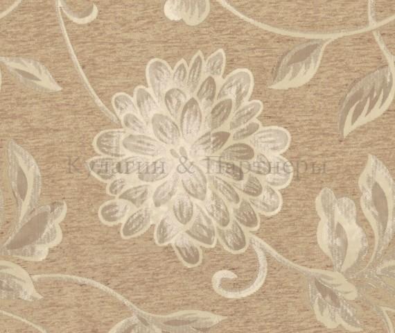 Обивочная мебельная ткань шенилл Malina Beige