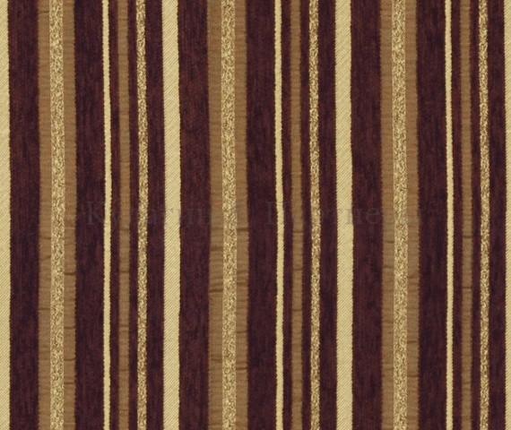 Обивочная мебельная ткань шенилл Yava stripe 19