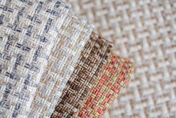 Мебельная ткань рогожка Korfu