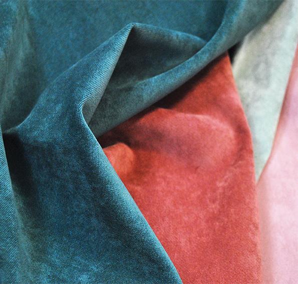 Обивочная мебельная ткань микровелюр Aquarelle