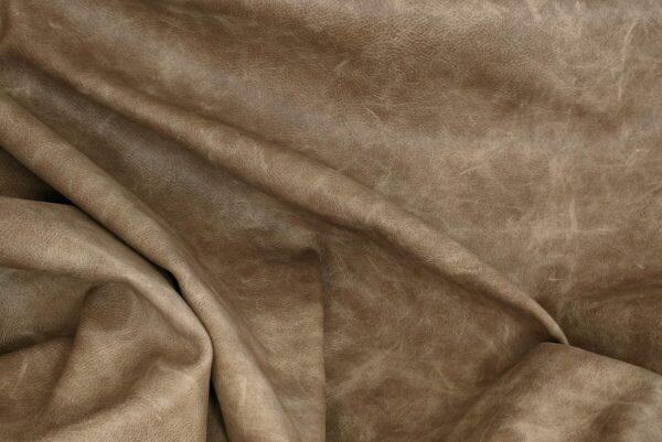 Ткань натуральная кожа Beige