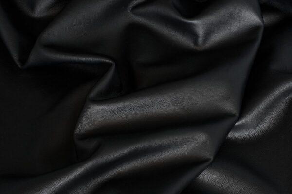 Ткань натуральная кожа Black