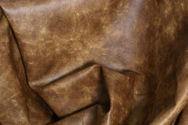 Ткань натуральная кожа Camel