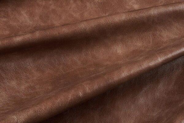 Ткань натуральная кожа Cigar Morena