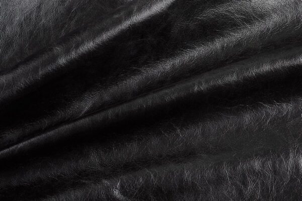 Ткань натуральная кожа Cigar Nero