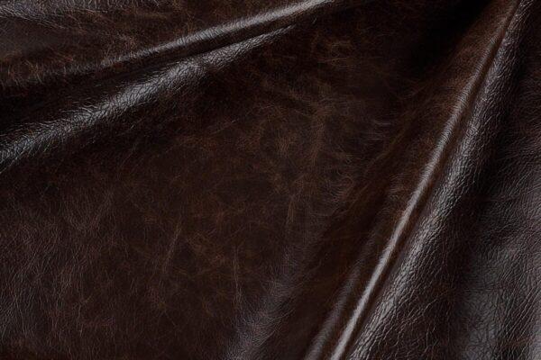 Ткань натуральная кожа Cigar Sherry