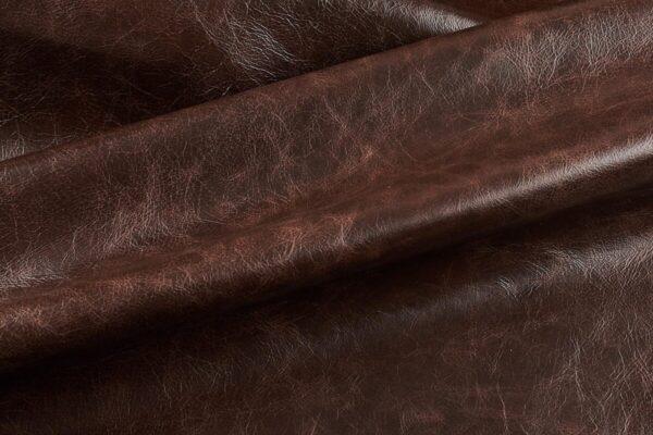 Ткань натуральная кожа Cigar Terra