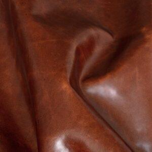 Ткань натуральная кожа Club Brown