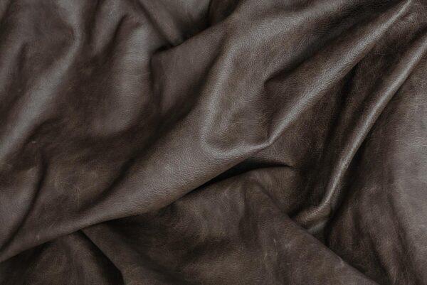 Ткань натуральная кожа Grey