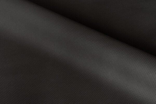Ткань натуральная кожа PERFORATE Black